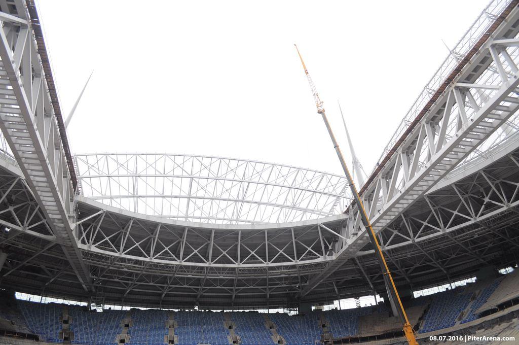 Фото стадиона на Крестовском от 08 июля