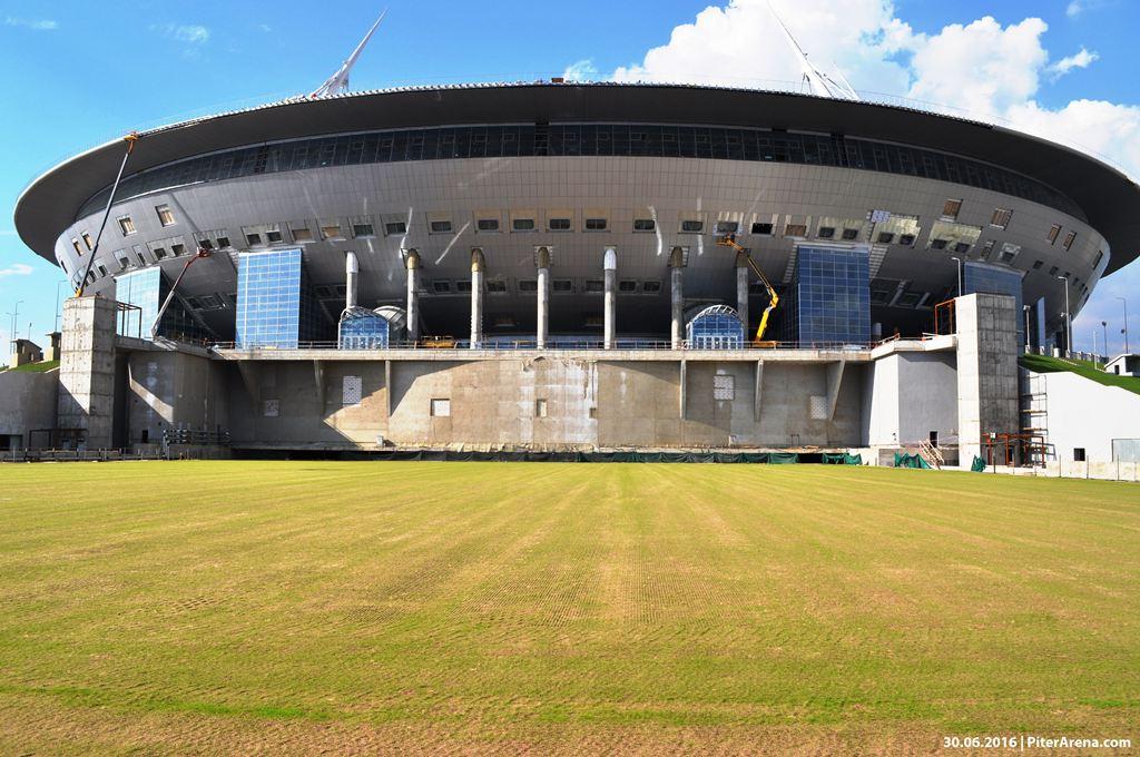 Фото стадиона на Крестовском от 30 июня