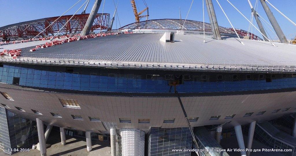 Как изменился стадион за минувший год