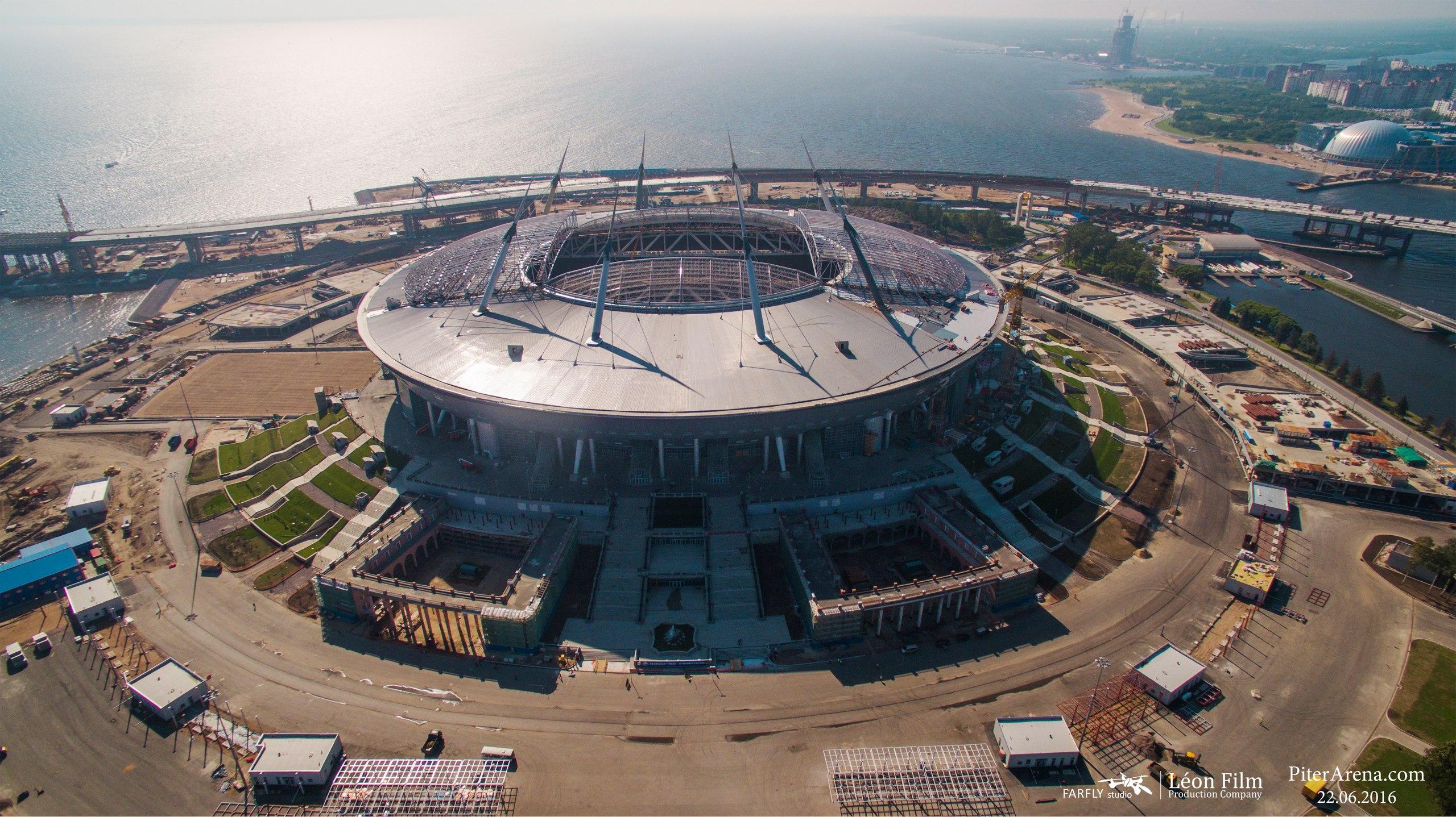 Заявление генерального подрядчика строительства стадиона на Крестовском острове