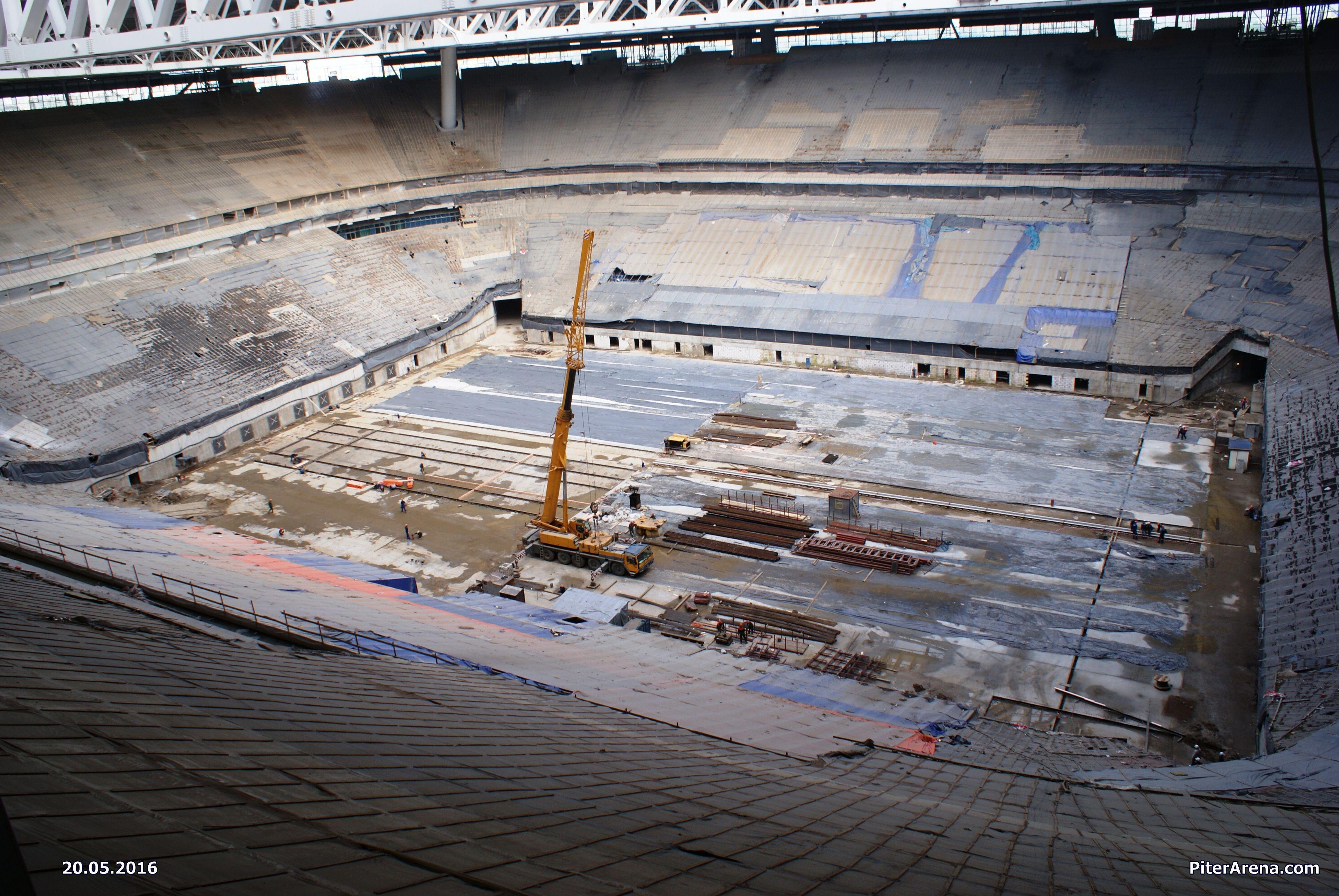 Фото стадиона от 20 мая