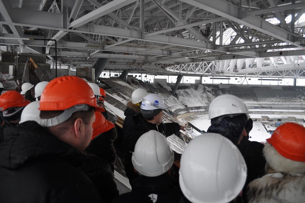 Строительство «Зенит-Арены» завершится в декабре 2016 года