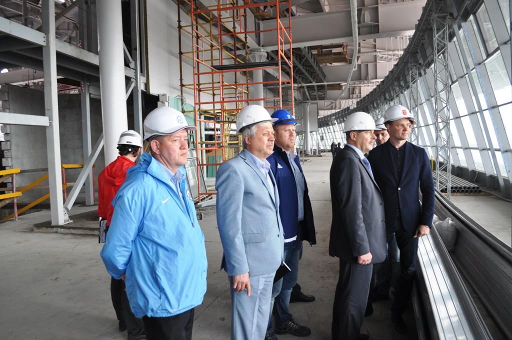 Замминистра спорта РФ: Строительство стадиона на Крестовском завершится в заявленные сроки