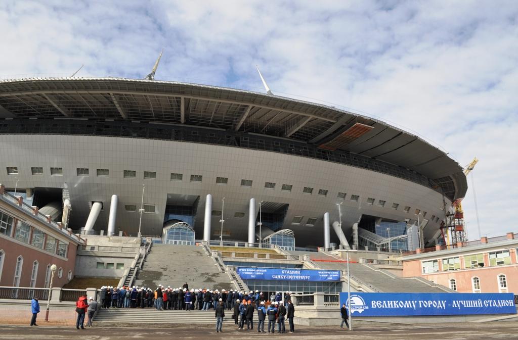 Кубок Конфедераций пройдёт в Санкт-Петербурге. Стадион будет готов в срок