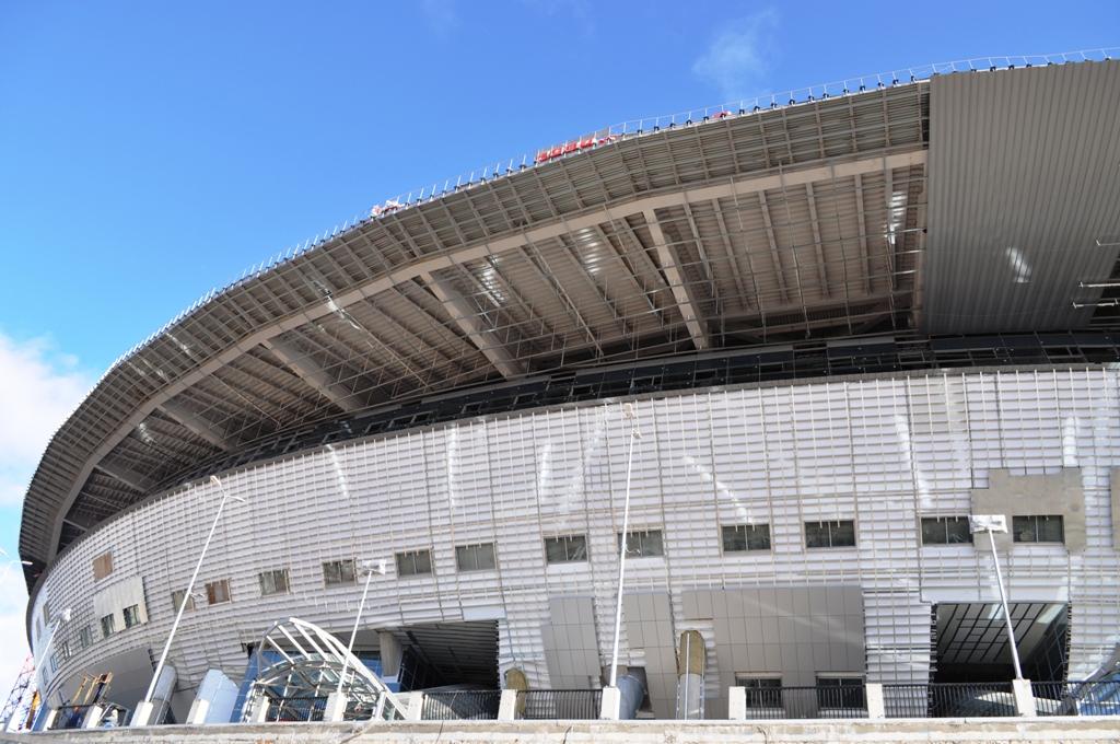 Фото стадиона от 17 марта