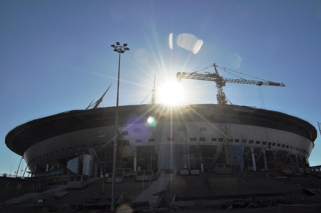 Фото стадиона от 24 марта