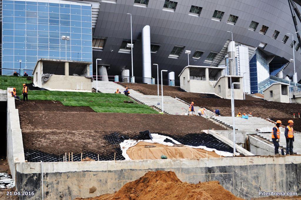 Фото стадиона от 21 апреля