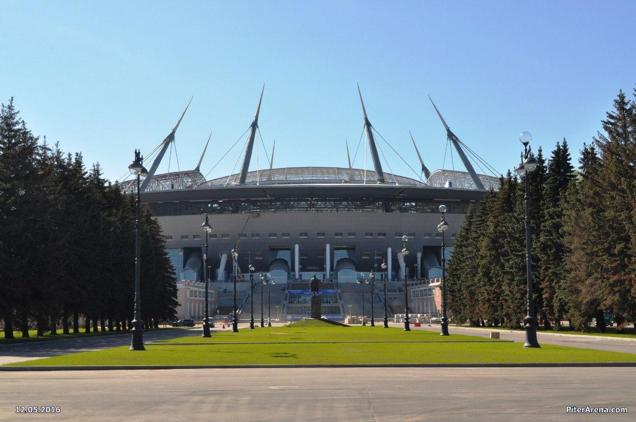 The current status of the stadium
