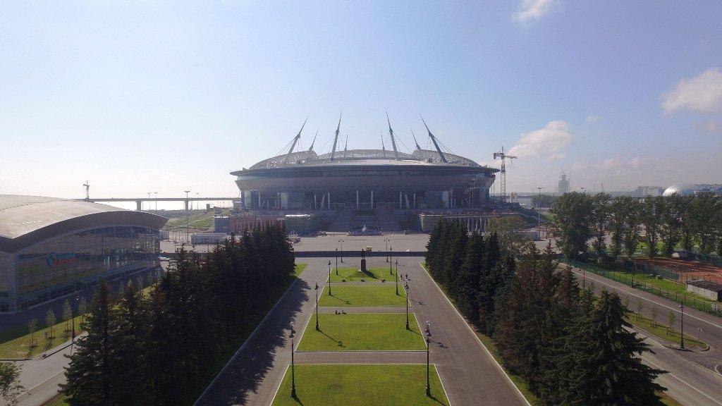 «Инжтрасстрой-СПб» завершил передачу площадки строительства стадиона  на Крестовском острове