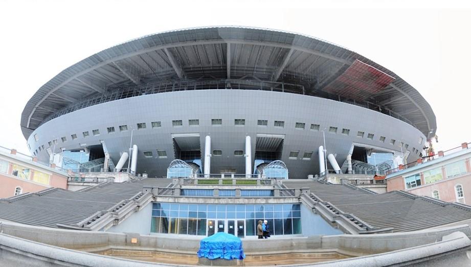 «Инжтрансстрой-СПБ» продолжает работы по строительству стадиона «Зенит-Арена» в Санкт-Петербурге