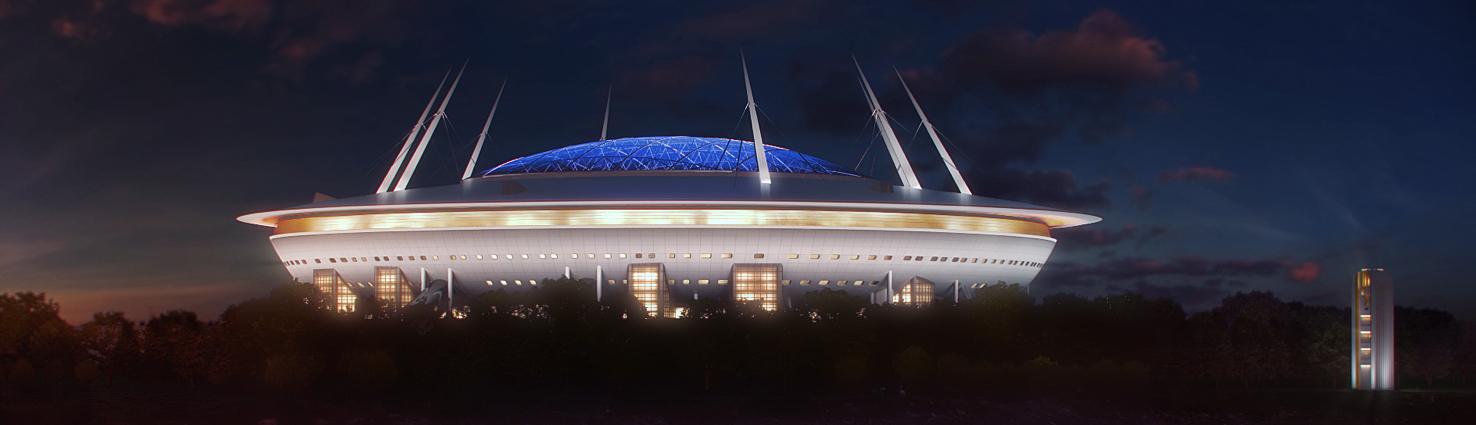 Руководитель проекта строительства стадиона «Зенит» Виталий Лазуткин выступил на круглом столе рабочей группы по развитию применения инновационных материалов