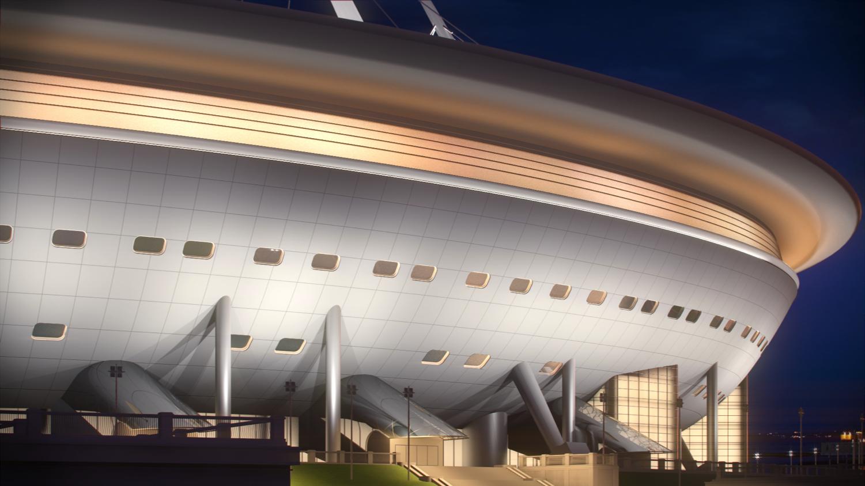 Подписан контракт на продолжение строительства футбольного стадиона на Крестовском острове
