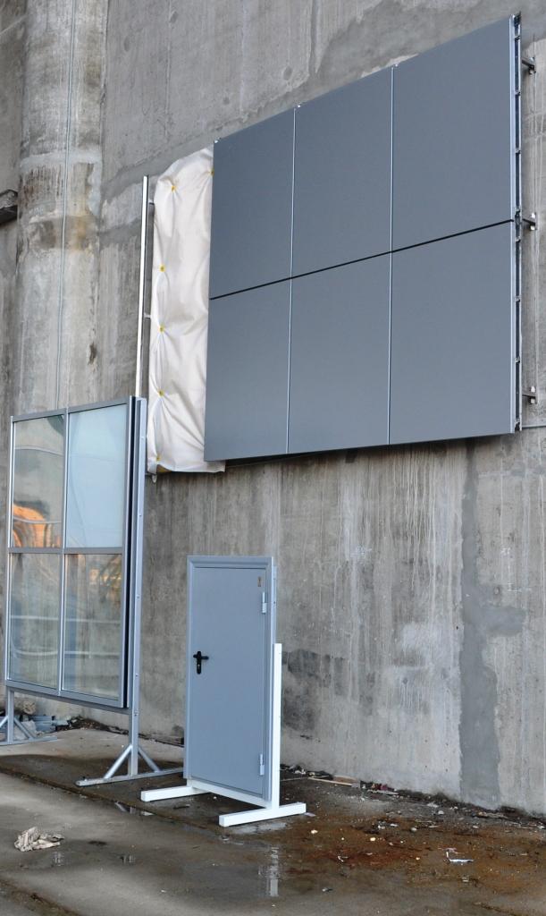 «Трансстрой» начал монтаж тестовых образцов фасада на футбольном стадионе в Петербурге