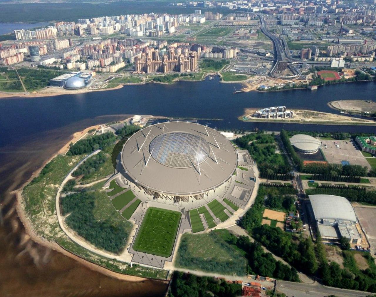 Строители стадиона на Крестовском ответили на вопросы читателей