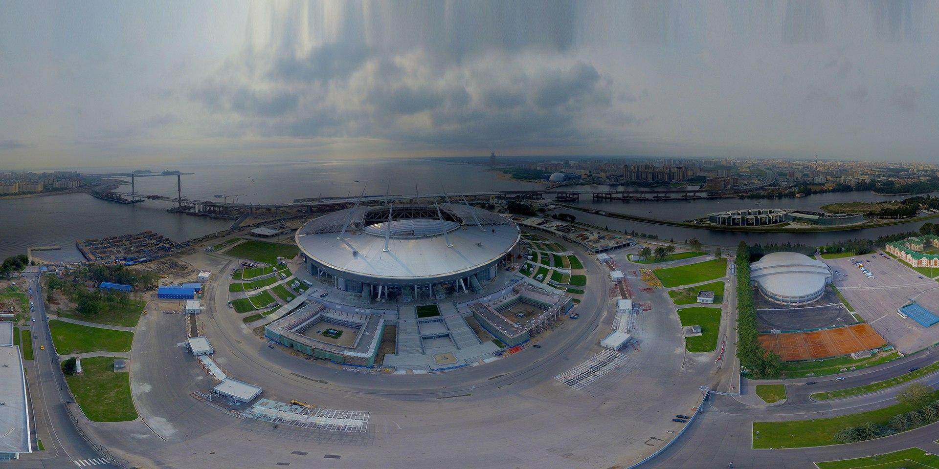 Стадион на Крестовском: вашими глазами. Июль